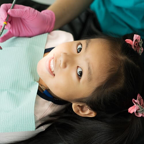 Shot of one of our awesome younger patients smiling to the camera