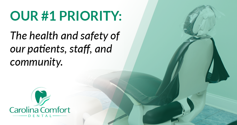 Our #1 priority: The health and safety of our patients, staff, and community.